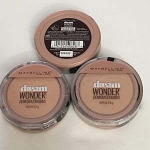 3pk Maybelline Dream Wonder Powder-Creamy Natural